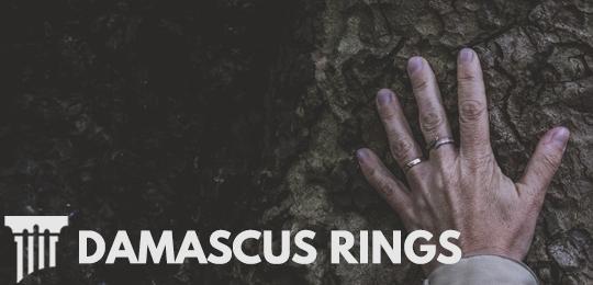 Unique Damascus Steel Ring Durability